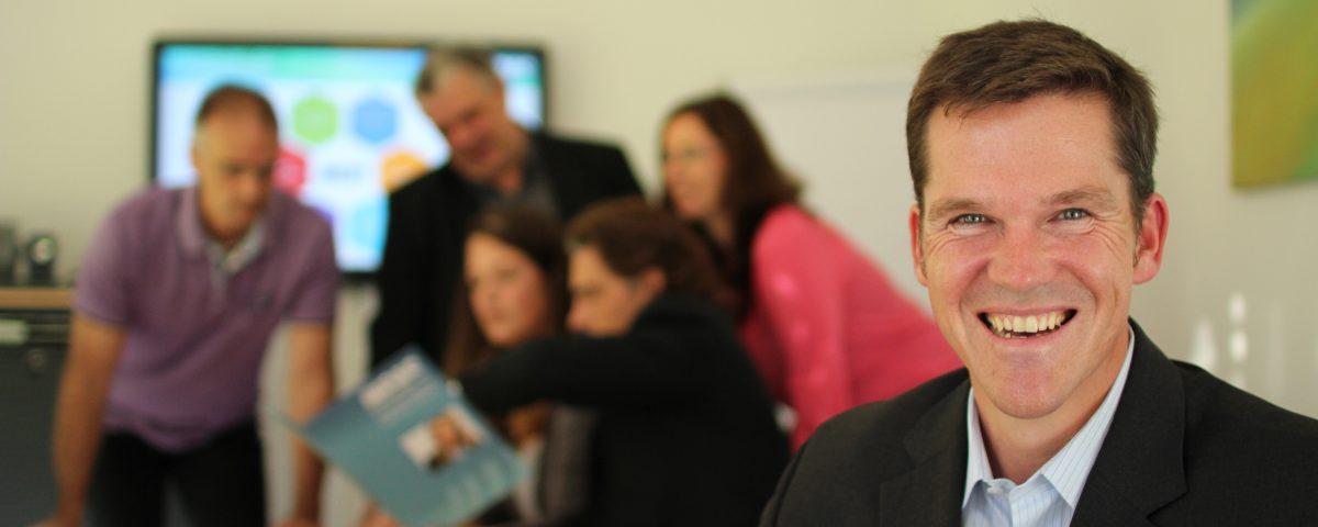 Roland Janke, Geschäftsführer INCAS GmbH