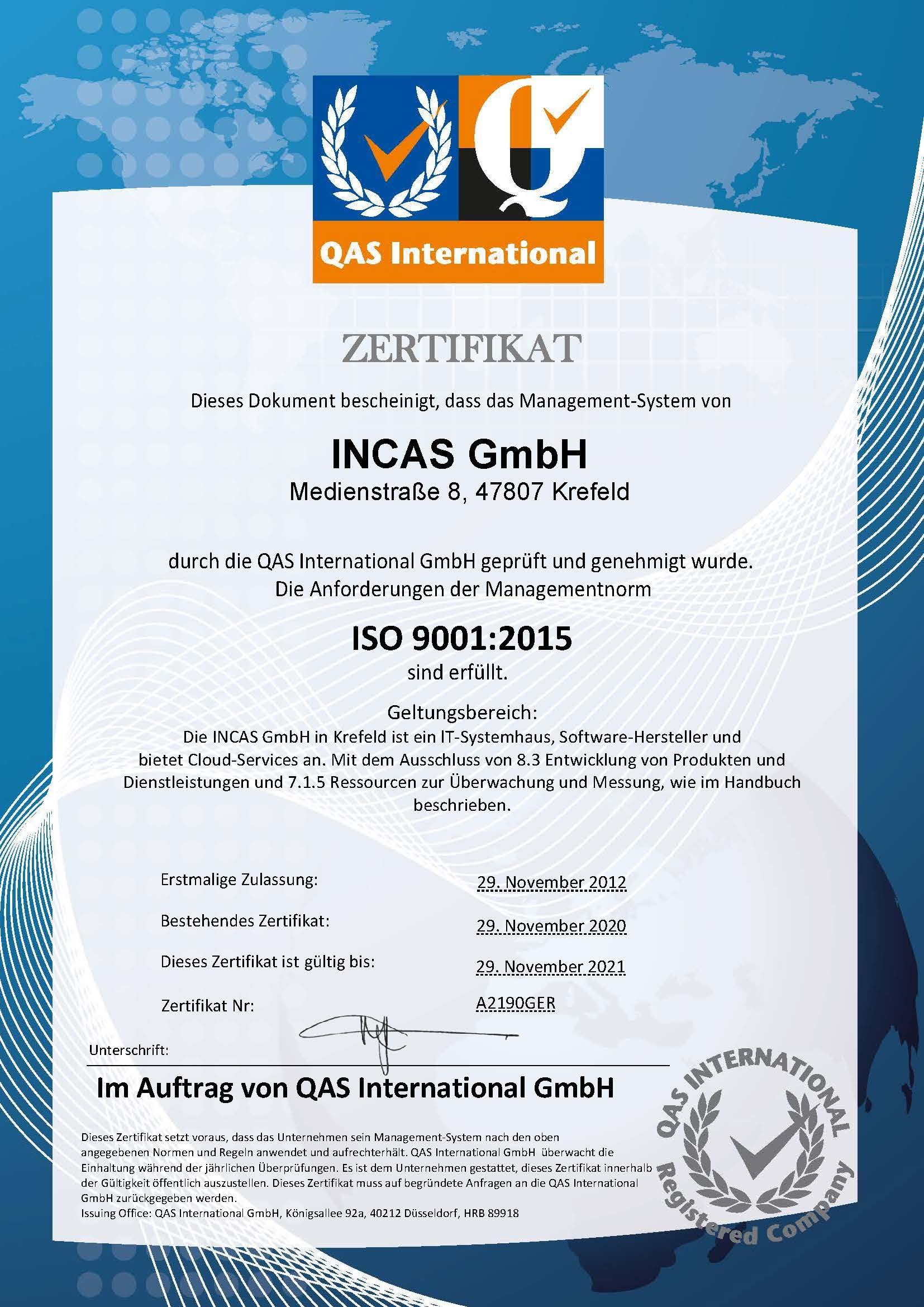 ISO 9001 Zertifikat 2021 jpeg